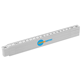 Plastic folding ruler