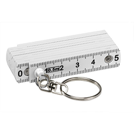 Plastic folding ruler, mini
